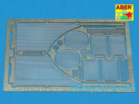 Grilles 1/35 for Sd.Kfz.182 King Tiger (Porshe Turret)