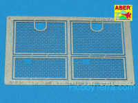 Grilles for Sd.Kfz.181 Tiger I, AFV Club