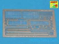 Grilles for Russian tank T-55, Tiran 5, for Tamiya kit