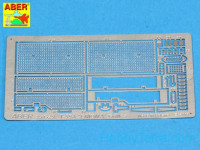 Grilles for Russian Tank T-55A, ENIGMA, for Tamiya kit
