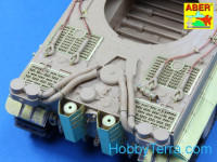 Grilles for Sd.Kfz.181 Tiger I, for Rye Field Model kit