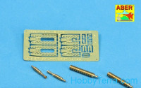 Set of 2 barrels 1/35 for machine guns ZB 37 for Pz.35/38(t) tanks