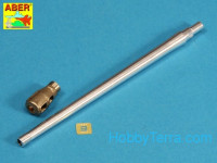 Russian 122mm D-25T tank barrel for IS-3, for Tamiya/Trumpeter