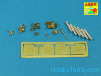 Armament for Mk.I OQF 3pdr Vickers - 1 0.303 Vickers - 2, for HobbyBoss kit