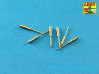 Set of barrels for US M16A1 or M231 5,56mm gun barrels, 6 pcs