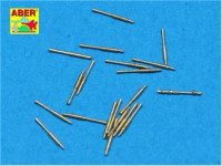 Set of 20 pcs 25 mm type 96 A/A barrels for Japan ships