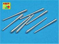 Set of 8 pcs 381mm (15in) L42 Mk.I long barrels for Hood, Repulse, Queen Elisabeth, Vang