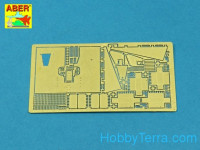 Photo-etched set 1/48 German 88mm anti-aircraft gun Armour for Flak 36/37, for Tamiya/Italeri kit