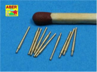 Set of 10 pcs 203 mm barrels for Japan ships : Atago, Kumano, Myoko etc.