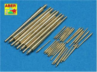 Set of 1/700 barrels for Bismarck battleship