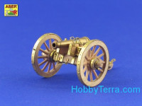 Napoleonic war period – British 6-pounder gun