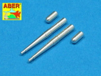 Set of two barrels 1/48 for Hispano 20mm machine cannons for British fighter Spitfire