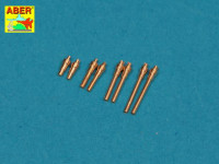 Aber  A72-005 Set of 8 turned cal .50 (12,7mm) U.S. Browning M2 barrels for P-47 Thunderbolt