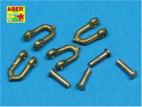 Early model shackle for Pz.Kpfw.VPanther, 4pcs