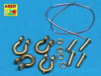 Shackle 1/35 for Soviet tanks KV-1, KV-2, 4pcs