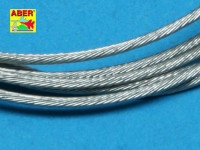 Aber  TCS-12 Stainless Steel Towing Cables d 1,2mm, 1 m long