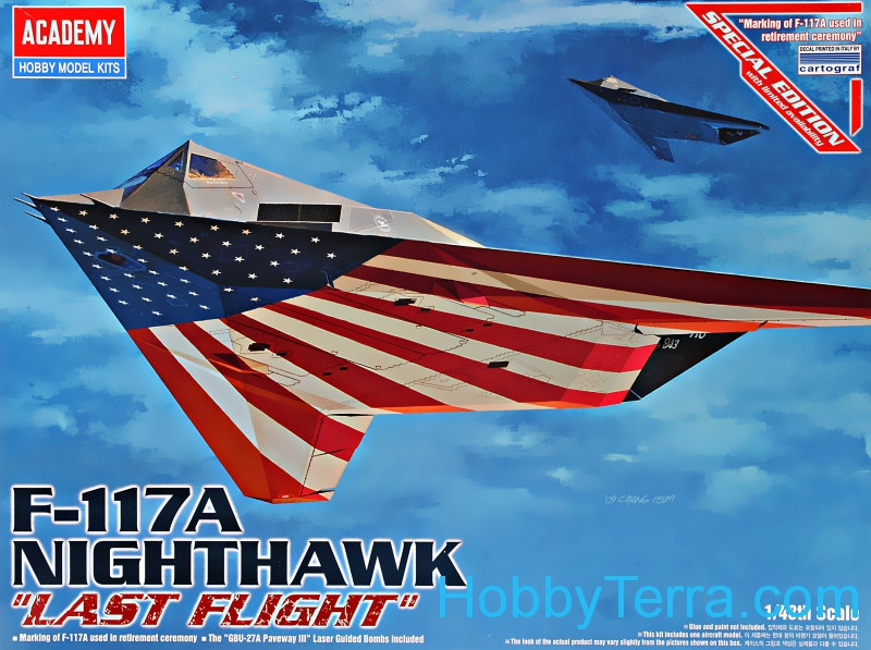 "Nighthawk F-117A ""Last Flight"""