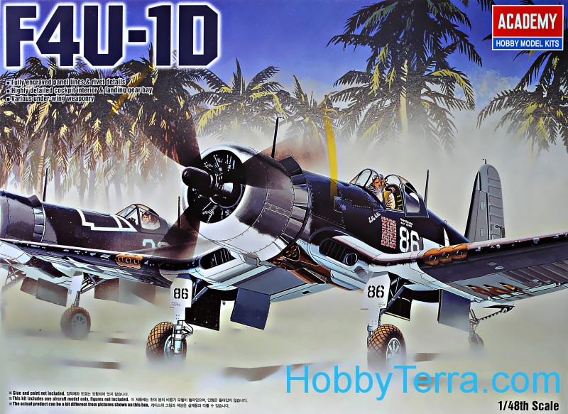 "F4U-1D ""Corsair"" fighter"
