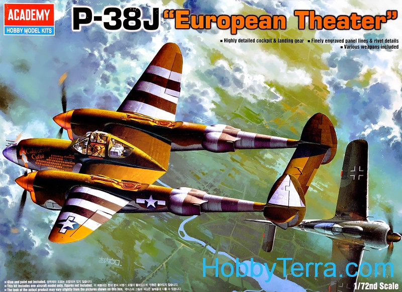 "P-38J Lightnning ""European theater"""
