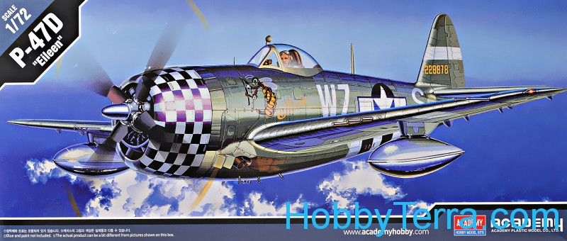 "Academy  12474 Fighter P-47D Thunderbolt ""Eileen"""