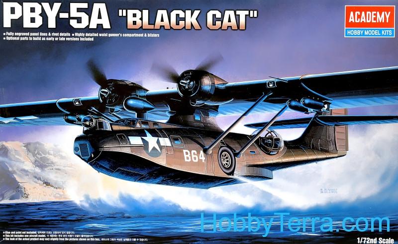 Academy   Pby A Catalina Black Cat