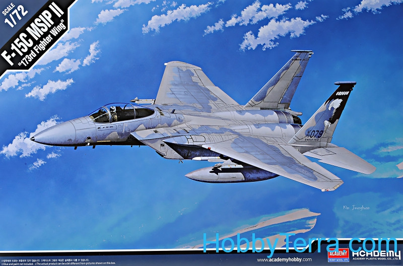 "F-15C MSIP II ""173rd Fighter wing"" fighter"