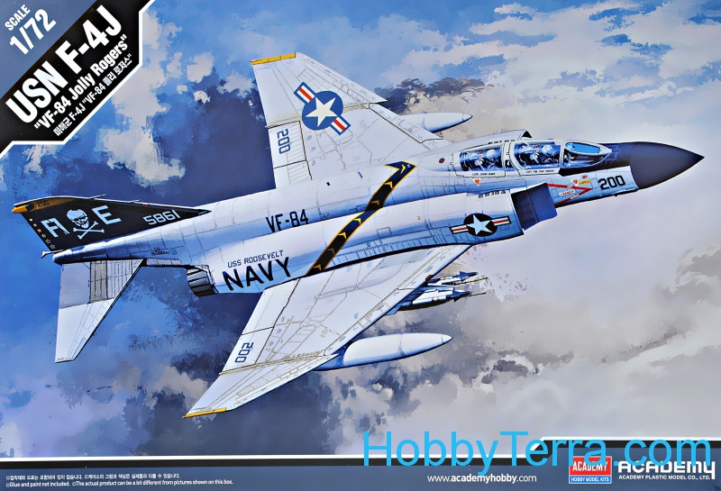 "USN F-4J ""VF-84 Jolly Rogers"" fighter"