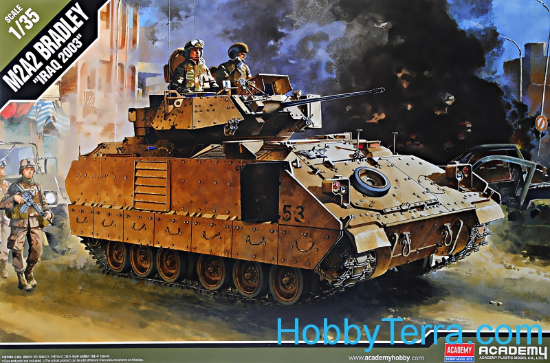 M2A2 Bradley O.I.F infantry fighting vehicle