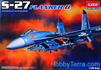 Fighter Sukhoi Su-27 Flanker B