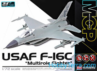 "USAF F-16C ""Multirole fighter"" MCP. Snap fit"