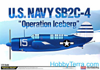 "US Navy SB2C-4 ""Operation Iceberg"" bomber"