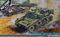 U.S. light tank M3A1 Stuart