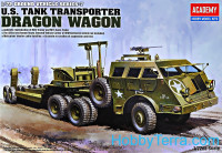 "WWII Ground vehicle series. US tank transporter ""Dragon Wagon"""