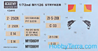 Academy  13411 Ground vehicle series. M1126 Stryker