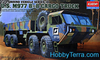 Ground vehicle series. US M977 8x8 cargo truck