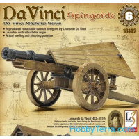Da Vinci Machines Series. Spingarde