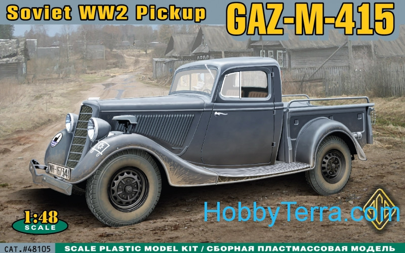 WWII Soviet pick-up GAZ-M-415