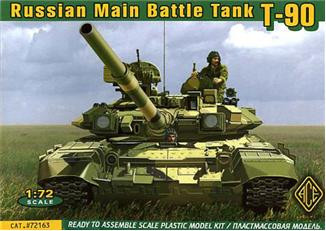 Ace  72163 Russian main battle tank T-90