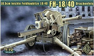 Ace  72226 LeFH.18/40 105mm WWII German howitzer