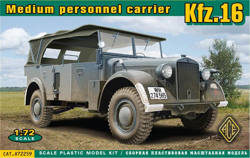 Kfz.16 medium personnel carrier
