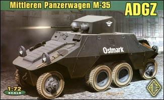 Ace  72263 ADGZ (M-35) Austrian heavy armored car