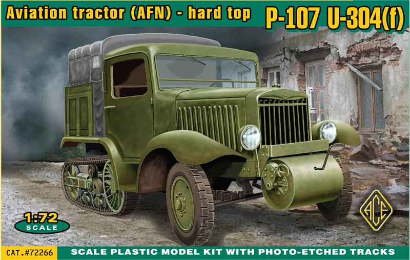 Ace  72266 P-107 U-304(f) Aviation tractor (AFN) - hard top