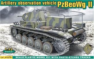 PzBeoWg II German artillery observation vehicle