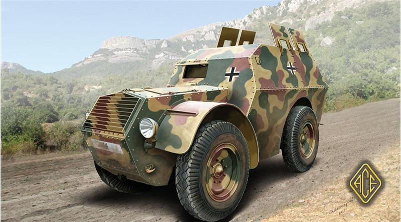 Ace  72284 Autoprotetto S.37 Armored car