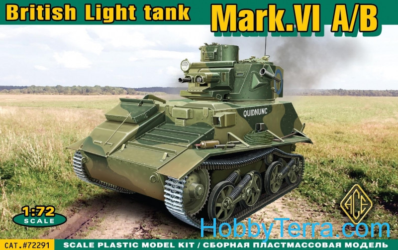Mark.VI A/B British light tank