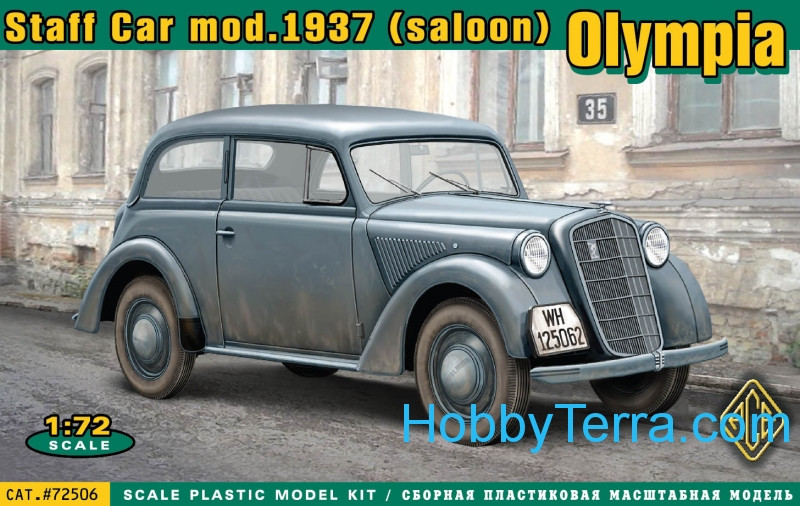 Olympia (saloon) staff car, model 1937