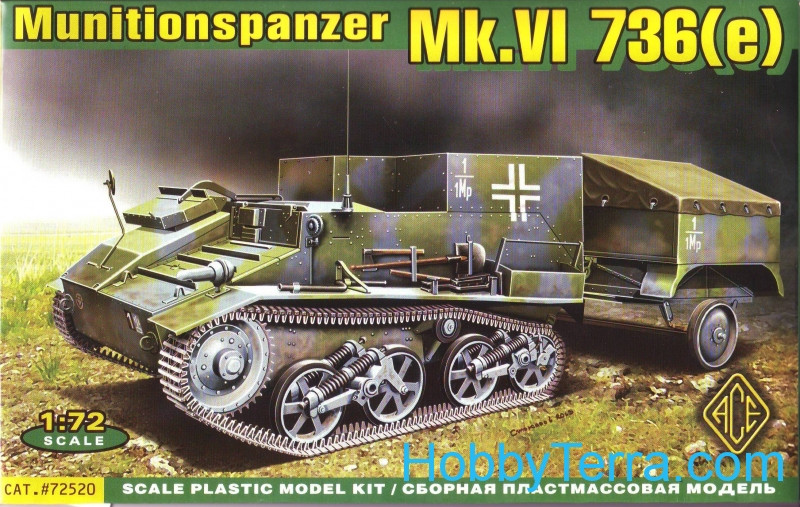 Ammo carrier on Mk.VI 736(e) chassis