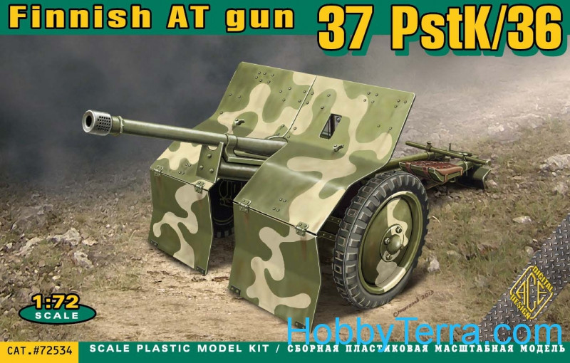PstK/36 Finnish 37mm anti-tank gun