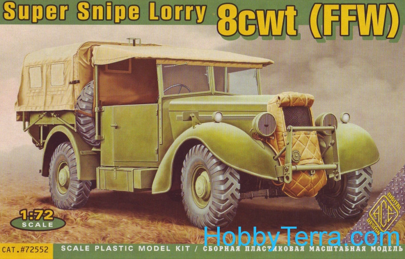 Super Snipe Lorry 8cwt truck