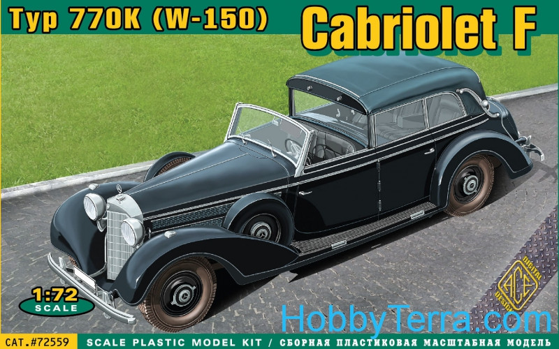 Ace  72559 MB-770K (W-150) Cabriolet F (7 passenger Touring)